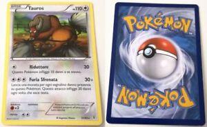 Tauros Carte gioco singole collezionabili Pokémon 57/83 generazioni-Reverse Holo de NM POKEMON