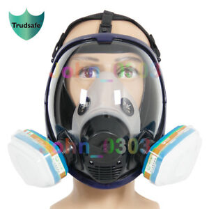 Festive & Party Supplies Party Masks Careful Full Face Mask For 6800 Gas Mask Full Face Facepiece Respirator For Painting Spraying Free Shipping