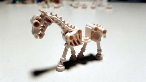 Lego Pferd Skelett Skeletal Horse Weiß White Figur Neu