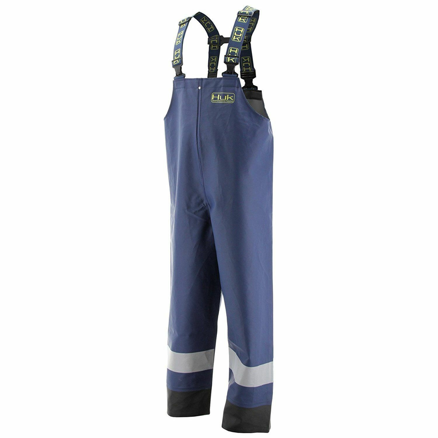 2437 Huk Commercial Grade PVC Waterproof Foul Weather Bib  Navy Size 2XL  70% off cheap