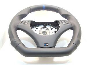 BMW E90 E91 E92 E93 E87 E81 E88 Sport NAPPA Leather Steering Wheel+M-Stitching