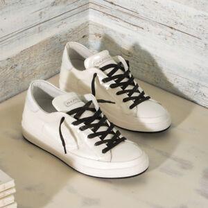 Sv02 Donna Offerta Ebay In Pelle Ckld Bianca Model Sneaker Philippe Hfd0wxgF0q