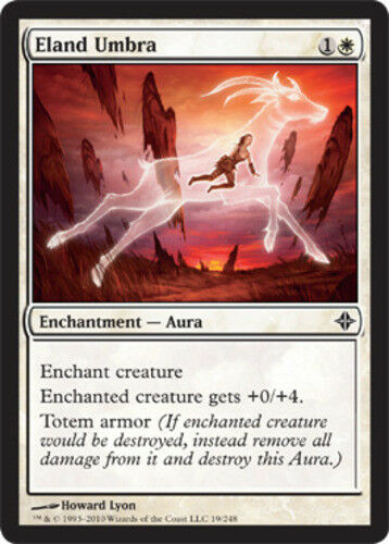 4x Eland Umbra MTG Rise of the Eldrazi NM Magic Regular