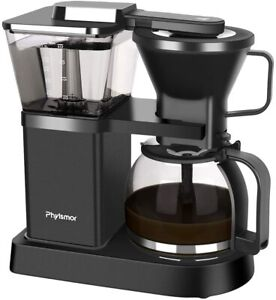 Phyismor Pour Over 8 Cup Coffee Maker Automatic Drip Stop