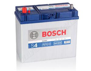autobatterie bosch 12v 45ah 330 a en s4 022 45 ah top. Black Bedroom Furniture Sets. Home Design Ideas