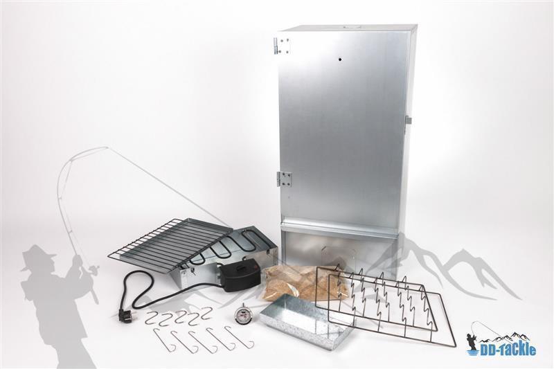 NUOVO XXL 80 cm elettrica räucherofen räucherschrank räuchertonne Smoker pesce