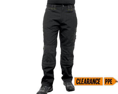 Regatta Pantaloni Nero Con Tasche Knee.-mostra Il Titolo Originale