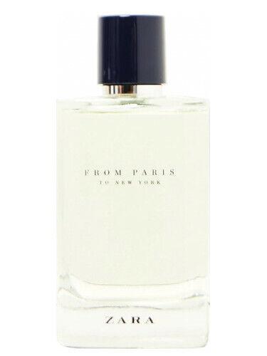 Zara From Paris To New York Eau de Parfum 120ml 2018 *Sealed* Rare Discontinued