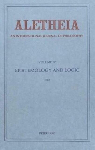 Aletheia: An International Yearbook of Philosophy: Ethics and Medicine: Volume