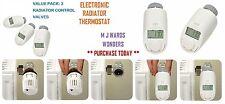 Electronic radiateur thermostat-avec le contrôle de température-pack de 3