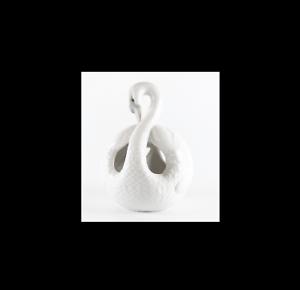 LLadro-Schwan-Porzellanfigur-signiert