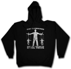 Controlled Hoodie Sweatshirt Get Forces Corruption Stay Clearheaded Evil Hq0BB1