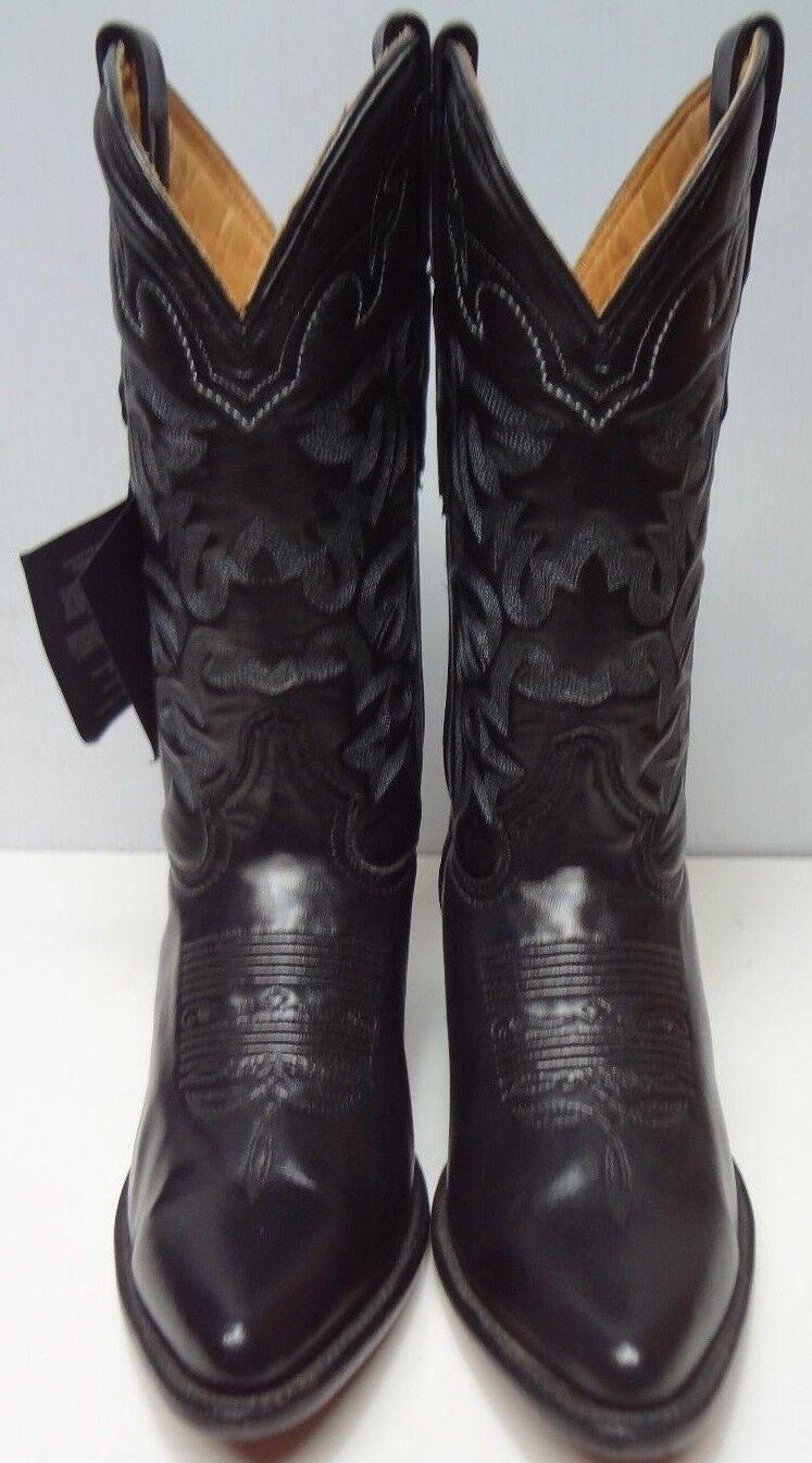 Men's cowboy boots genuine leather western C281
