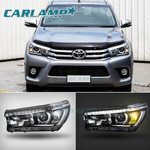 For Toyota Hilux Revo 2016 2017 Led Headlights Projector
