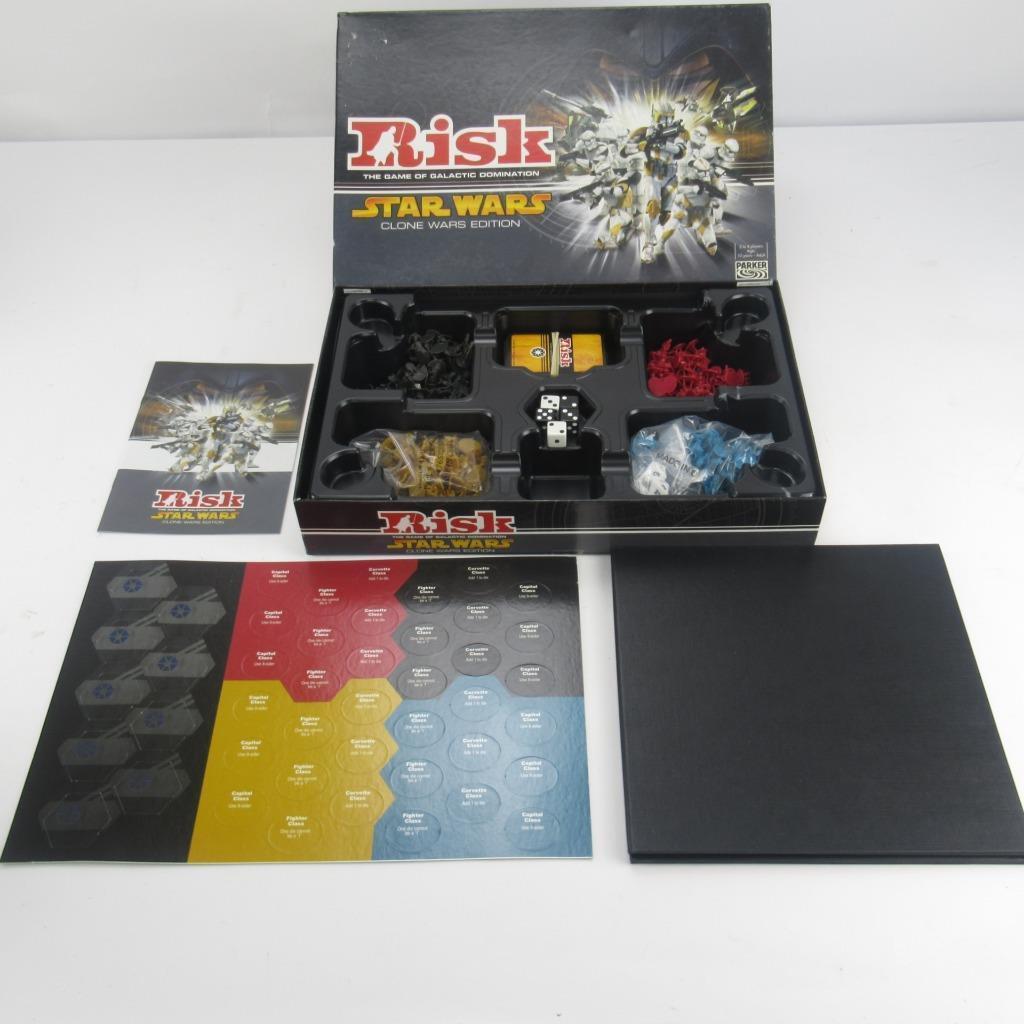 Riesgo clásico juego de Mesa-Star Wars  Clone Wars Edition-Caja Edition-Caja Edition-Caja Original Completo 1abb4d