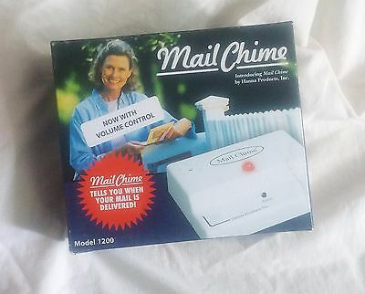 MAIL CHIME Mailbox Alert Model 1200 with Volume Control