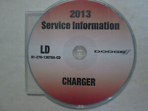 2013 dodge charger service manual