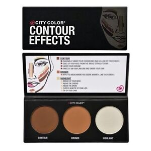 City-Color-Contour-Effects-Palette-Contour-Bronze-amp-Highlight-Palette-FREE-SHIP