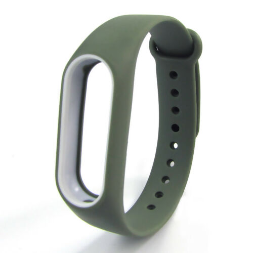 Brand New Silicone Wrist Strap WristBand Bracelet Replacement for XIAOMI Band 2