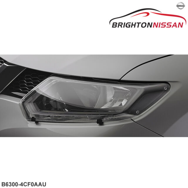 Genuine Nissan T32 X-Trail Series 1  Clear Headlamp Protector Set B63004CF0AAU