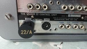 Quad-II-22-Pre-amp-phono-adaptor-Type-A-New-UK-made