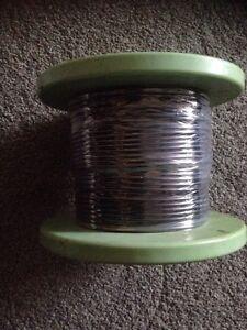 Black-Round-Flexible-Cable-3-Core-0-5mm-3-Amp-100m-3-Core-Flex-Cable