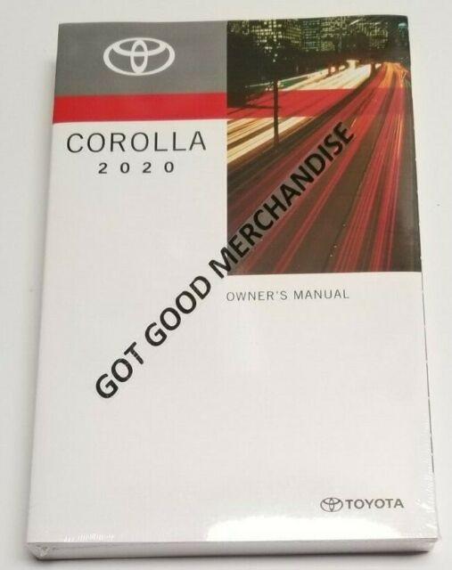 Toyota Corolla 2020 L Manual Manual Guide