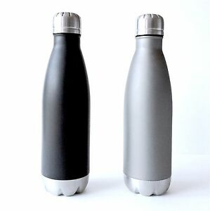 HGO Force Stainless Steel Oz HotCold Double Wall Vacuum - H2go water bottle