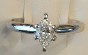 14k-white-gold-Marquise-Diamond-Solitaire-Engagement-Ring-40-ct-G-VS2-size-7