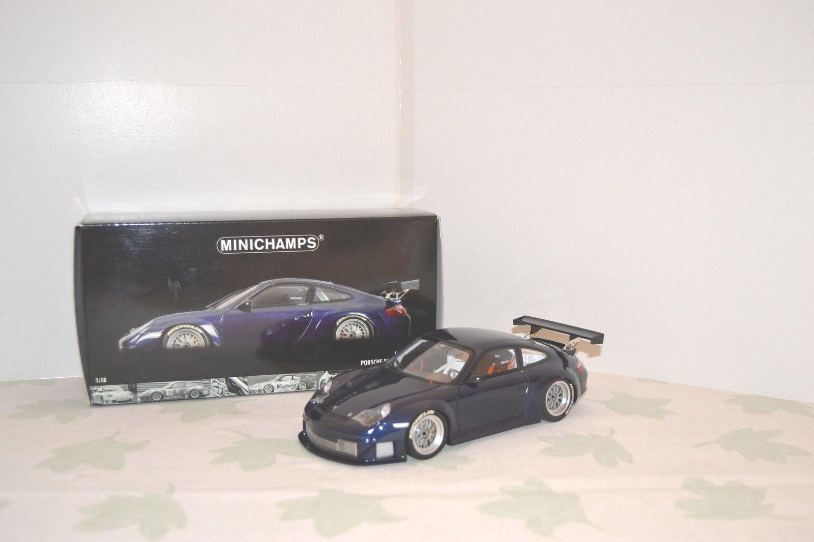 Minichamps 1/18 Porsche 911 GT3 RSR ALMS Type 997 2004. Réf. 100 046404. | Outlet Online
