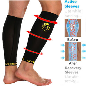 34bdf4efe8 Image is loading Copper-Infused-Calf-Brace-Medical-Sports-Support- Compression-