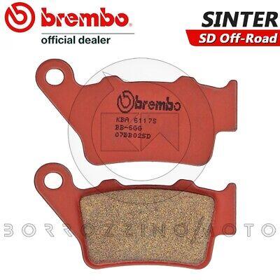 Pastiglie Freno Posteriori Brembo Sinterizzate Sd Off-road Husqvarna Tc 510 2002 100% Hoogwaardige Materialen