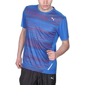 Details about Puma Training Tee Technical Running Shirts PR Graphic Cool  Cell Mens New