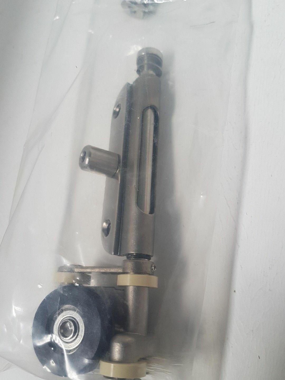 Henderson Securefold Ultra Left Hand End Hanger SFU2LC Chrome Finish Part 220974