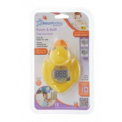 New Dreambaby Bath Room Digital Thermometer Duck or Croc Baby Safety Dream