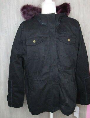 01bb3a3398b Ugg Convertible Field Women's Parka Black Jacket W/Toscana Hood ...