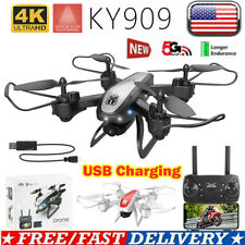 Drone With Wifi FPV 1080P HD 4K Camera Foldable 4CH RC Quadcopter 3D Tumbling UK