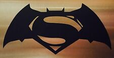 "2x Batman vs Superman 5.5"" Logo Car/Truck Window Vinyl Sticker Decal DC JDM"