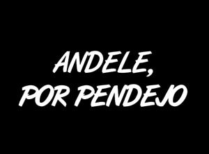 Espanol Humor cómico 100/% Cotton Men/'s T-Shirt ANDELE POR PENDEJO Spanish