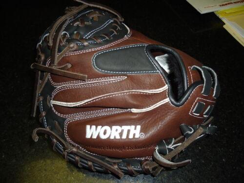 """Worth liberté Advanced lacmb Catchers Mitt 32.5/"""" Droitier 199.99 $"""