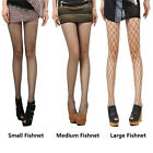 Womens Sexy Fishnet Pattern Pantyhose Tights Black Stockings Punk