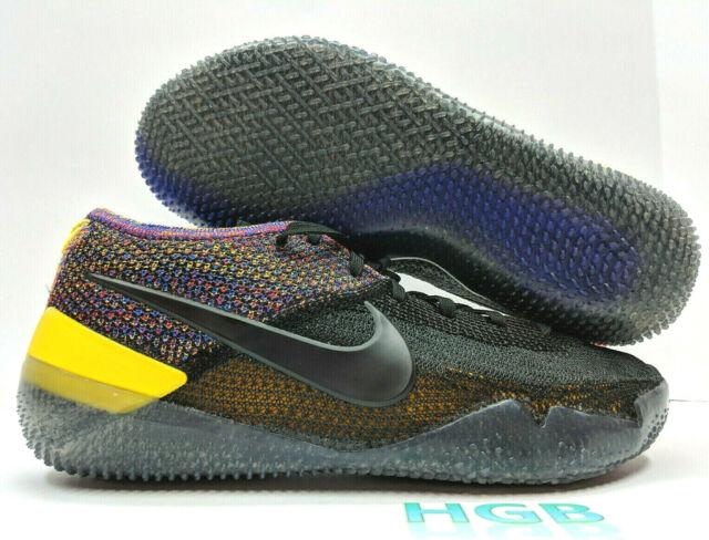 7f88cc32850 Nike Kobe AD NXT 360 Mens Black Multicolor Basketball React AQ1087-002 NIB
