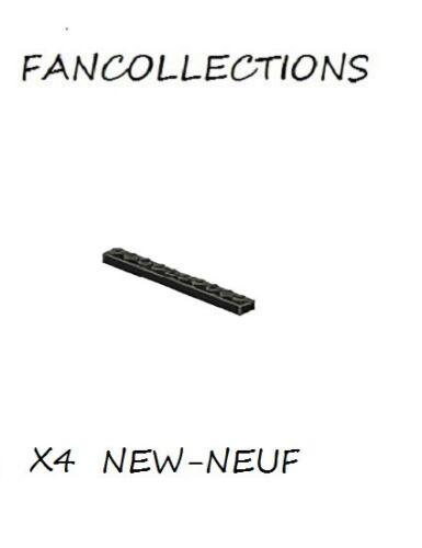 Black Plate 1x10-4477 NEUF LEGO x 4