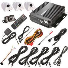 4Ch Vehicle Car 3G/4G Wifi Mobile DVR RealTime Video Recorder+Camera Remote Kit
