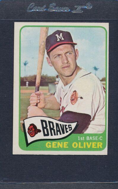 1965 Topps #106 Gene Oliver Braves EX *5522