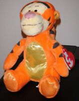 Ty Disney Tigger (winnie The Pooh) Sparkle Beanie Baby - Mint With Mint Tags