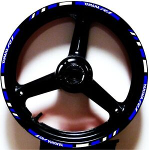 BLUE-WHITE-GP-STYLE-CUSTOM-RIM-STRIPES-WHEEL-DECALS-TAPE-STICKERS-YAMAHA-YZF-R1