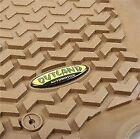 Floor Liner-Kit Tan 05-10 Jeep Grand Cherokee WK/06-10 Commander XK Outland