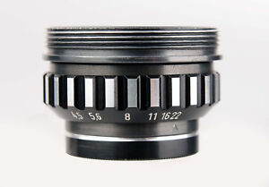 Vergrößerungsobjektive Will Wetzlar Willonar 1:4,5/75mm L Objektiv Enlarger Lens 722215