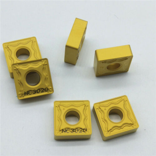 10Pcs Korloy SNMG120408-HM SNMG432-HM NC3020 Carbide Inserts